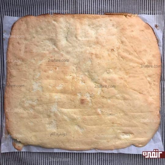 آماده شدن نان رولت