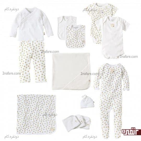 آنچه در انتخاب لباس نوزاد مهمه