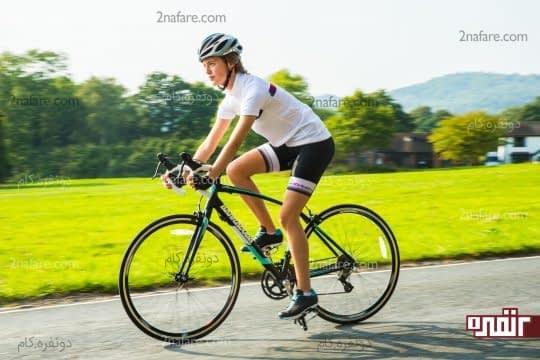 افزایش نشاط و تناسب اندام با دوچرخه سواری