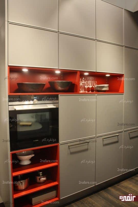انتخاب رنگ های گرم و دلنشین برای داشتن آشپزخونه ای آروم و شیک