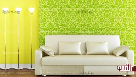 انتخاب طرح و رنگ مناسب برای کاغذ دیواری