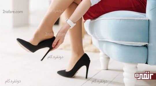 جنس کفش در میزان راحتی اون تاثیر داره