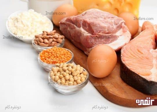 با پروتئین به جنگ چروکهای پوست برین