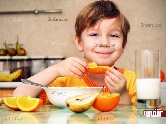 جلوگیری از بد غذا شدن کودکان