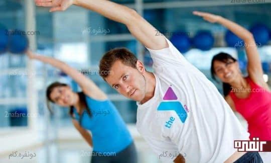تأثیر ورزش در رفع خستگی و کالری سوزی