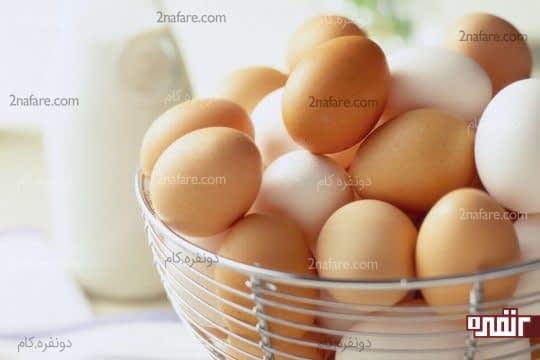 تخم مرغ ضامن استحکام ناخن