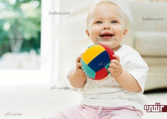 توپ اسباب بازی محبوب کودک
