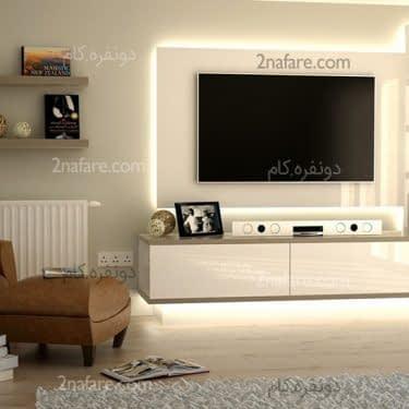 ایده هایی برای دکوراسیون تلویزیون