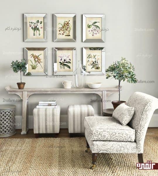 خاکستری در سایه های مختلف و ترکیب آن با قهوه ای برای داشتن دکوری زیبا و چشم نواز