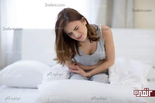 درد در ناحیه شکم و زیر شکم بعد از زایمان سزارین