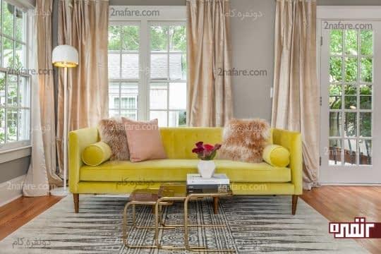 رنگ مناسب مبل برای استفاده در اتاق نشیمن