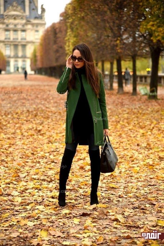 رنگ های تیره در پاییز شما رو گرم نگه میداره