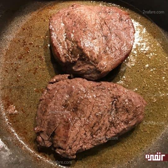 سرخ شدن گوشت