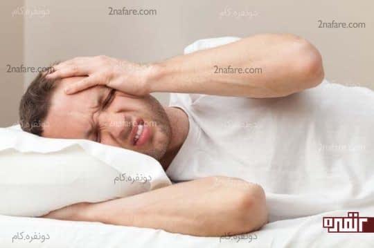 سرگیجه، تهوع و ضعف از عوارض ژلوفن