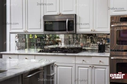 سطوح صاف و صیقلی برای آشپزخانه