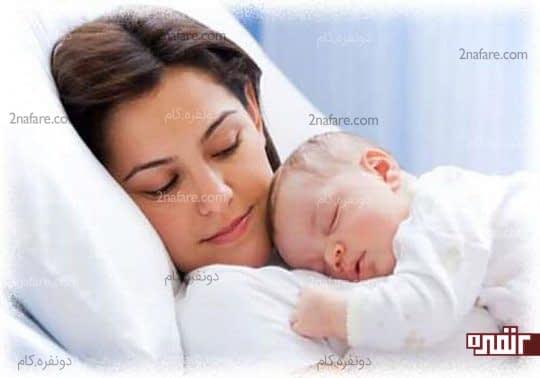 سلامت جسمی و روحی مادر با زایمان طبیعی