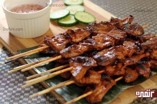 مصرف گوشت کباب شده برای تقویت و خونسازی بعد از زایمان