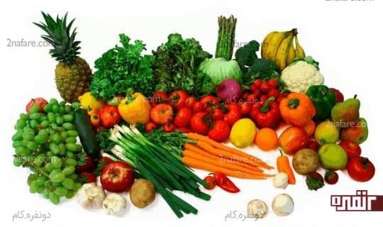 میوه و سبزیجات اکسیر جوانی پوست