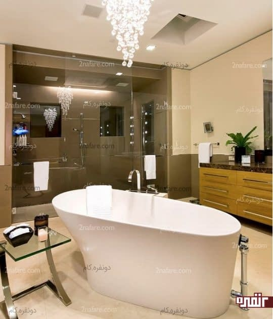 نورپردازی مناسب برای حمام