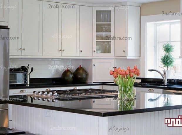 نور طبیعی برای تامین روشنایی فضای آشپزخانه