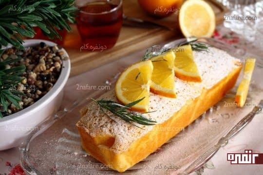 پاند کیک پرتقال .