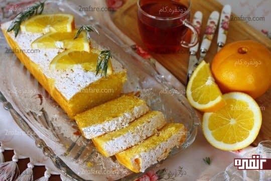 پاند کیک پرتقال