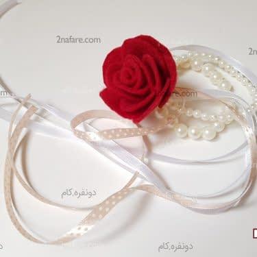 چسباندن گل