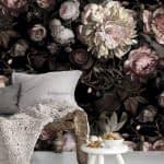 کاغذ دیواری های طرح گل برای چه فضاهایی مناسب تره؟