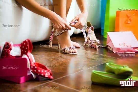 کفشی با اندازه مناسب انتخاب کنید