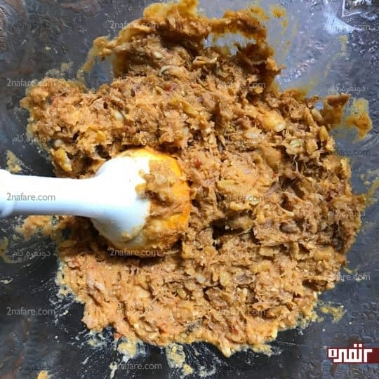 کوبیدن گوشت کوبیده