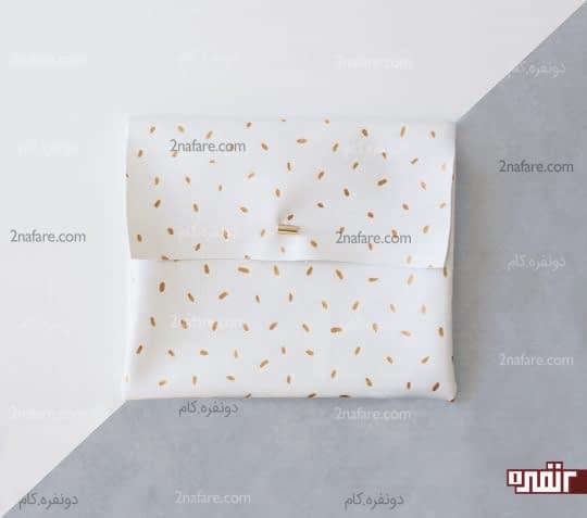 کیف دستی چرم ساده و زیبا