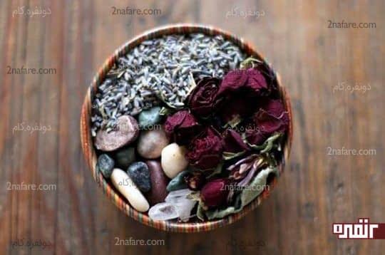 گل های خشک و معطر
