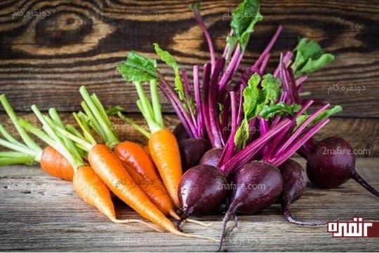 سبزیجات قرمز