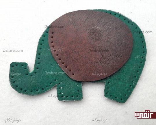 مشخص کردن محل گوش روی بدن فیل