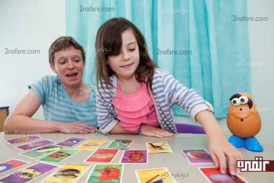 بازی با کارت های تصویری