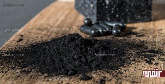 زغال فعال شده برای درمان نقرس