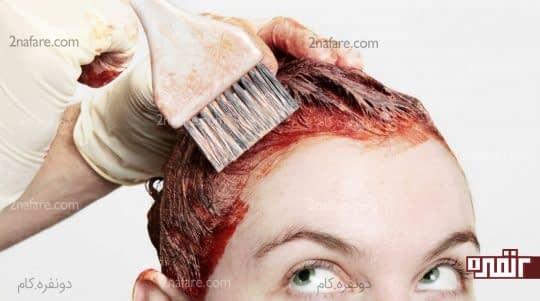 مواد شیمیایی که به مو آسیب میرسونن