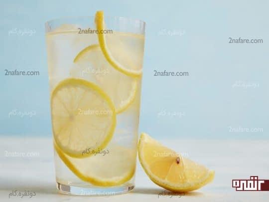 آب لیمو تازه برای درمان نقرس