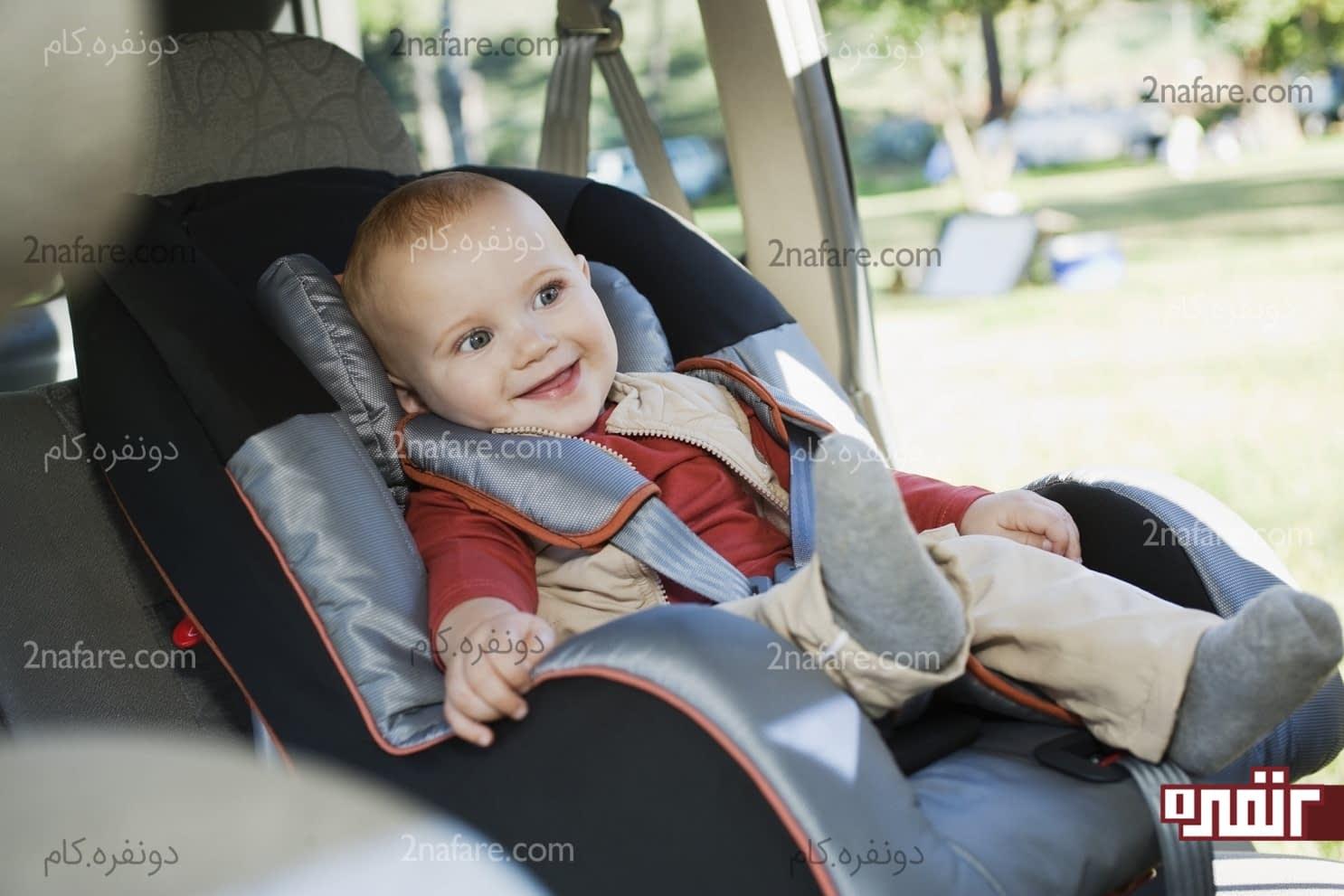صندلی کودک برای اتومبیل