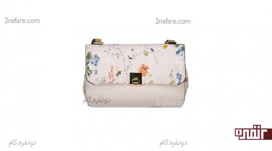 کیف گل دار زنانه