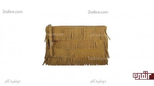 کیف خردلی زنانه