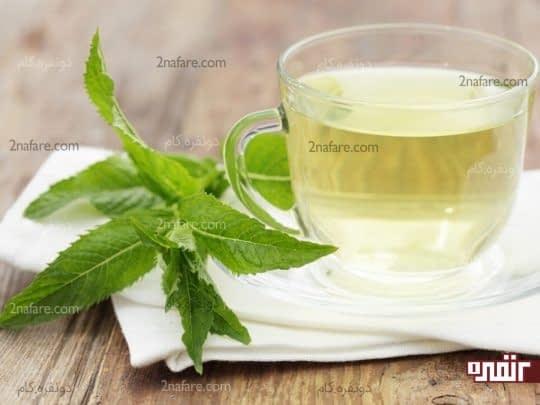 چای نعنا برای تسکین دندان درد