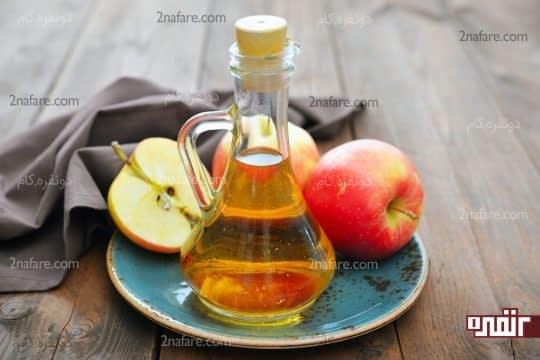 سرکه سیب برای درمان نقرس