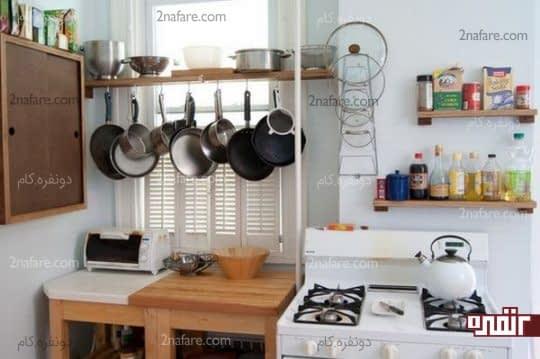 ایده های بکر برای مرتب کردن کابینت آشپزخانه