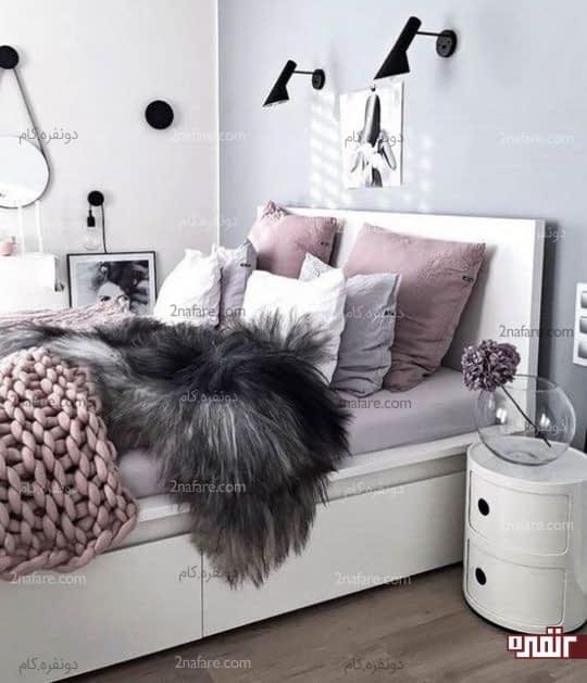اتاقی بسیار لوکس و زیبا به سبک مدرن