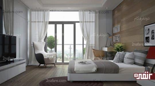 اتاق خواب زیبا و ایده آل به سبک مدرن