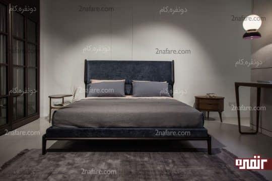 اتاق خواب مدرن با دکوراسیون ساده و لوازم کاربردی