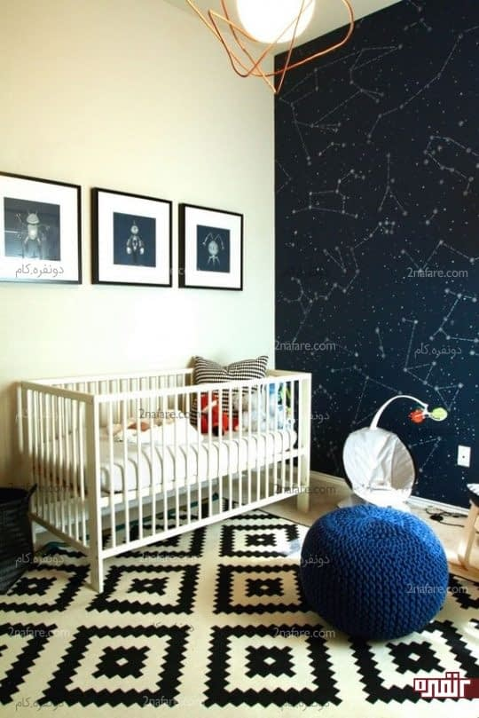 اتاق خواب مدرن پسرونه
