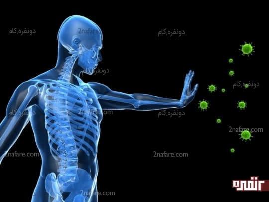 از بدن در برابر بیماریها محافظت میکنه