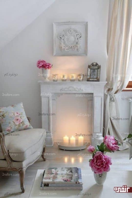 استفاده از رنگ های روشن در دکوراسیون داخلی خانه های کوچک